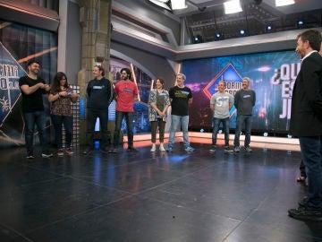 Juana Acosta y Luis Callejo juegan en 'El Hormiguero 3.0' a  '¿Quién es el jefe?'