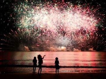 El espectáculo de fuegos artificiales (02-07-2018)