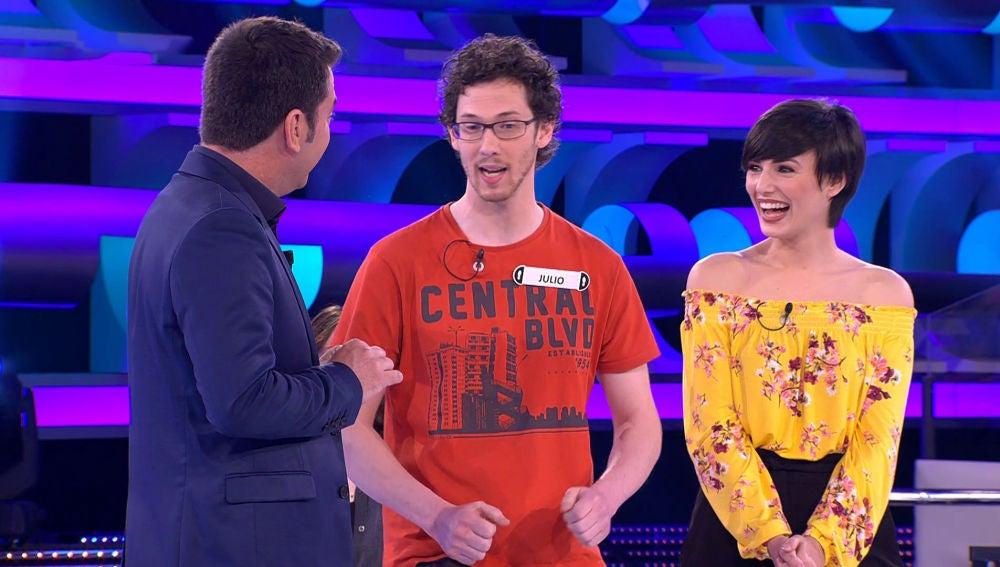 """Un concursante de '¡Ahora Caigo!' sorprende con una canción diferente: """"Muchas gambas diferentes, es una maravilla"""""""