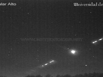 Un meteoro sobrevuela los cielos de Sevilla, Córdoba y Málaga