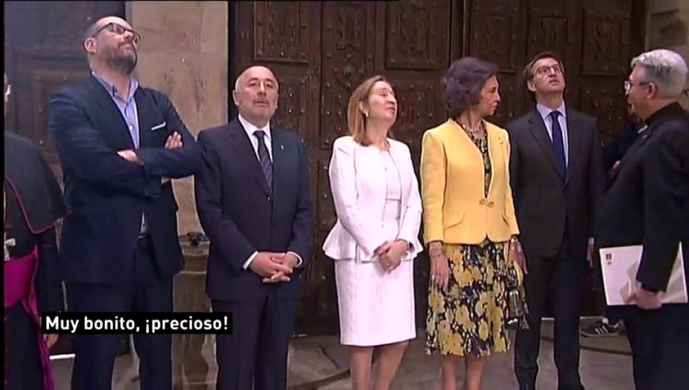 REEMPLAZO: Así ha quedado el pórtico de la gloria de la catedral de Santiago