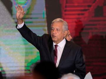 El líder izquierdista Andrés Manuel López Obrador