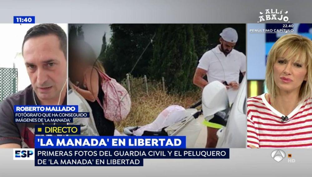 """Así fue la jornada playera del guardia civil de 'La Manada': """"Se quitó la camiseta y tuvo un cruce de miradas con las jóvenes"""""""