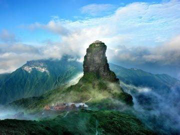 Montaña Fanjingshan, China