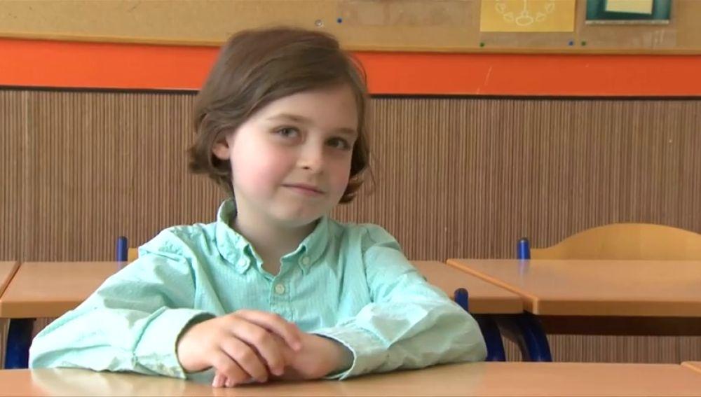 Un niño de ocho años estudiará en la universidad en Bélgica