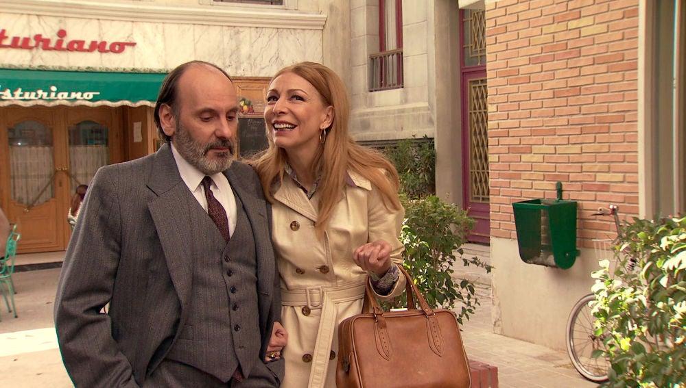 Mariola engatusa a Santiago para conquistar a Julián