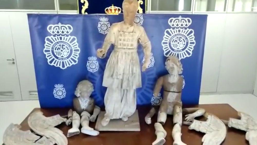 Dos vecinos de la Catedral de Cádiz guardaban las imágenes de La Roldana desaparecidas