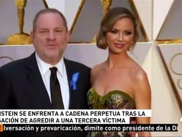 Presentan nuevos cargos contra Harvey Weinstein por los que podría ser condenado a cadena perpetua