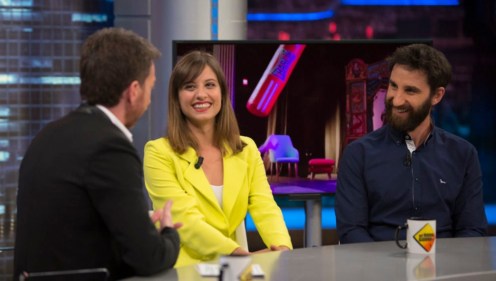 """Pablo Motos, a Michelle Jenner y Dani Rovira en 'El Hormiguero 3.0': """"Hacéis muy bien, los dos, de borrachos"""""""