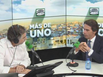 Entrevista completa a José María Aznar en Onda Cero