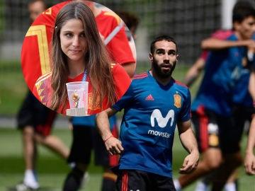 Lucía Villalón y Dani Carvajal