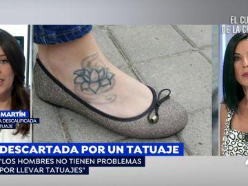 Descalifican a una opositora a psicóloga militar por un tatuaje en el empeine