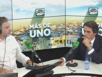 """Dardo de Aznar contra Rajoy: """"A la primera persona que invité a La Moncloa fue a Fraga y le dije que no me olvidaba de por qué estaba allí"""""""