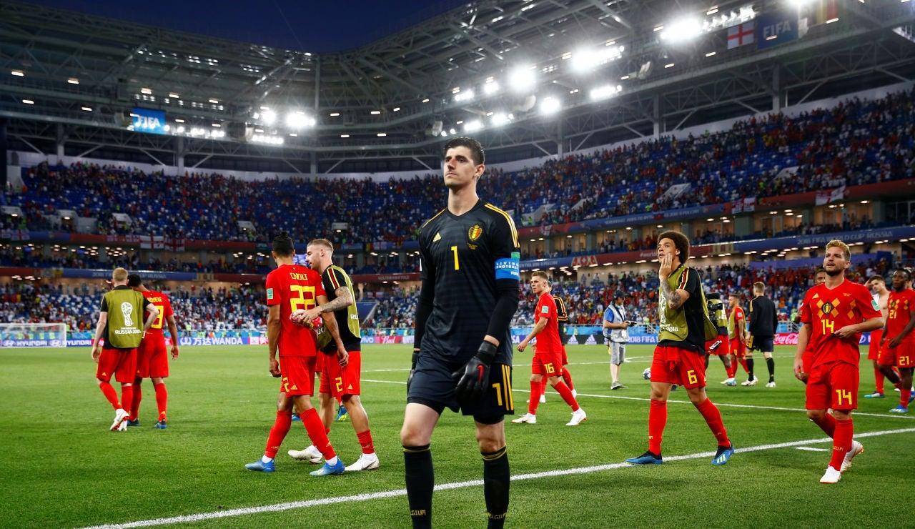 Courtois, tras el partido contra Inglaterra