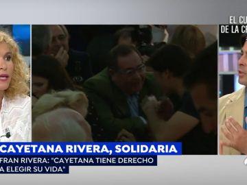 """Rifirafe en plató entre Fran Rivera y Cristina Fernández: """"No te permito que hables así de mi hija porque no tienes ni idea"""""""