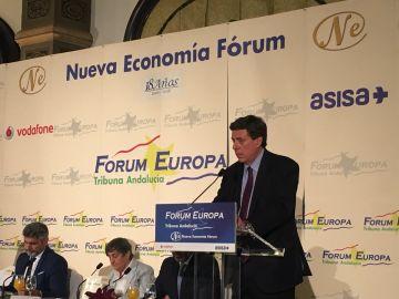 Juan Carlos Quer durante su intervención