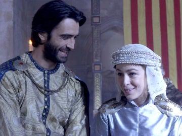 La boda de Arnau y Elionor, tras las cámaras de la serie