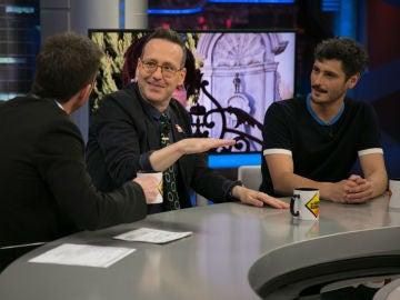 """Antonio Pagudo recuerda en 'El Hormiguero 3.0' su primer beso: """"Fue una encerrona"""""""