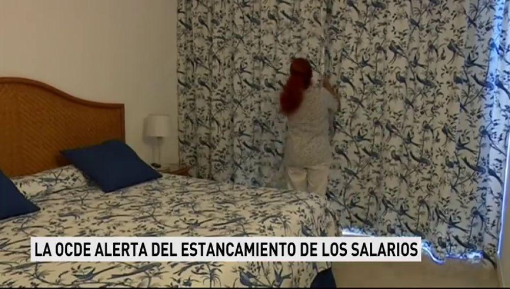 LA OCDE ALERTA DEL ESTANCAMIENTO DE LOS SALARIOSs
