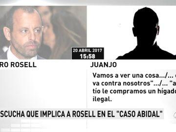 Las escuchas a Sandro Rosell desvelan una posible compra de un hígado ilegal para Abidal