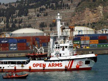 El barco 'Open Arms'