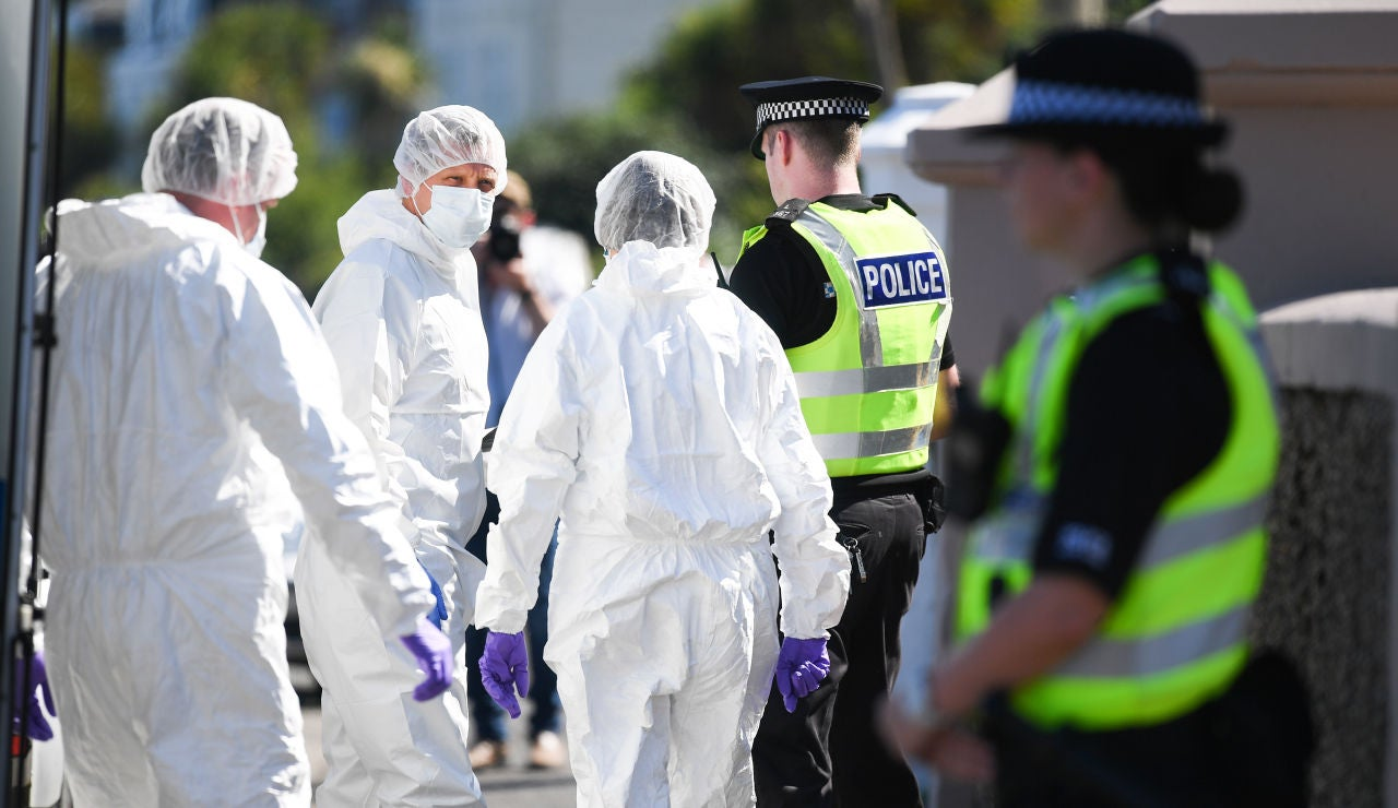 Imagen de archivo de la  Policía de Reino Unido