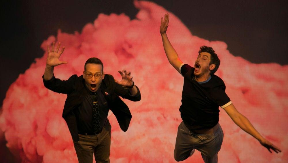 """La explosión que ha dejado """"fritos"""" a Joaquín Reyes y Antonio Pagudo en 'El Hormiguero 3.0'"""