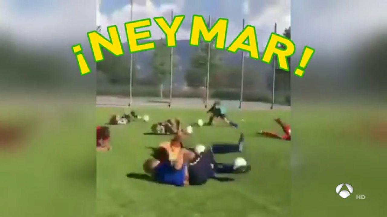 La Mofa De Unos Niños A Neymar Que Se Ha Vuelto Viral