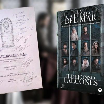 Consigue el sexto guion firmado por los actores de 'La Catedral del Mar'