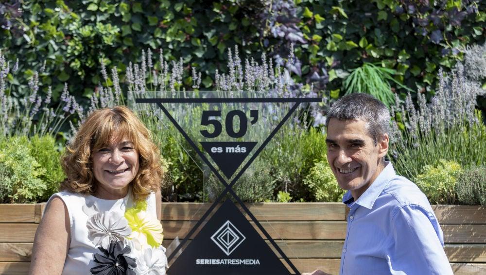 Sonia Martínez y Carlos Fernández