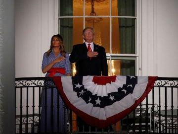 Donald Trump y Melania Trump