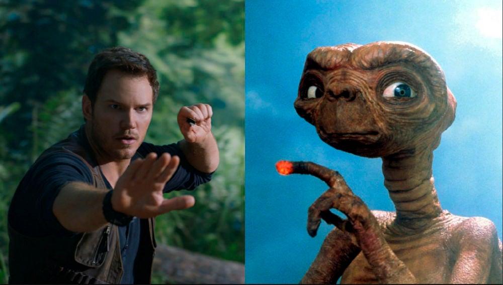 Las referencias de 'E.T' en 'Jurassic World: El Reino Caído'