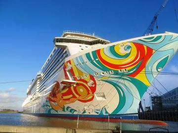 El crucero Norwegian Getaway
