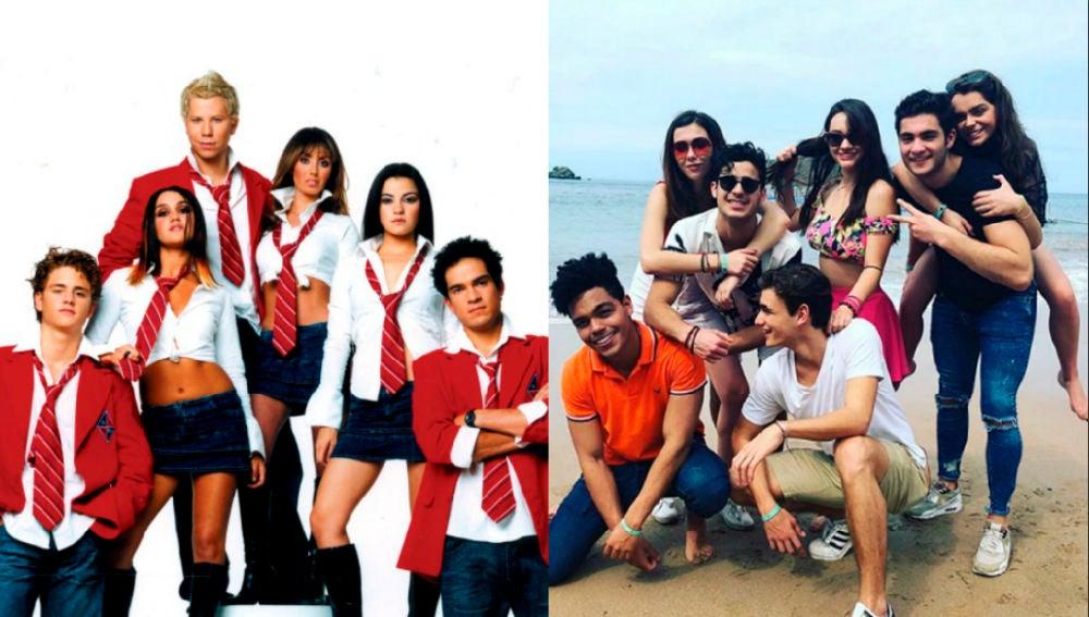Los protagonistas de 'Rebelde' y 'Like, la leyenda', el remake