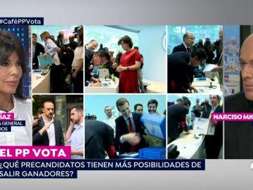"""Narciso Michavila: """"La candidata del votante del PP es Soraya, el del militante Casado y la del compromisario Cospedal"""""""
