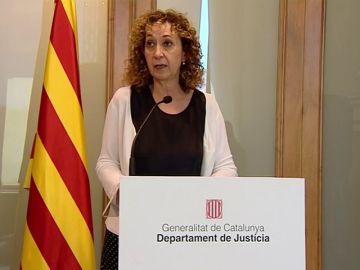 La consejera de Cataluña arropa a los familiares de los condenados por la agresión en Alsasua