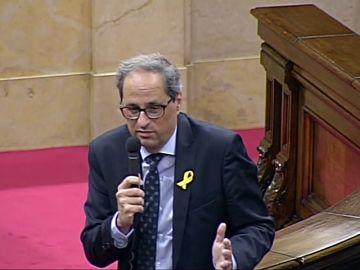 """Torra agradece a Sánchez poder """"hablar de todo"""" y espera escuchar su plan"""
