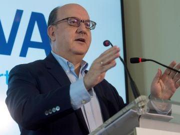 El presidente de la Asociación Española de Banca, José María Roldán