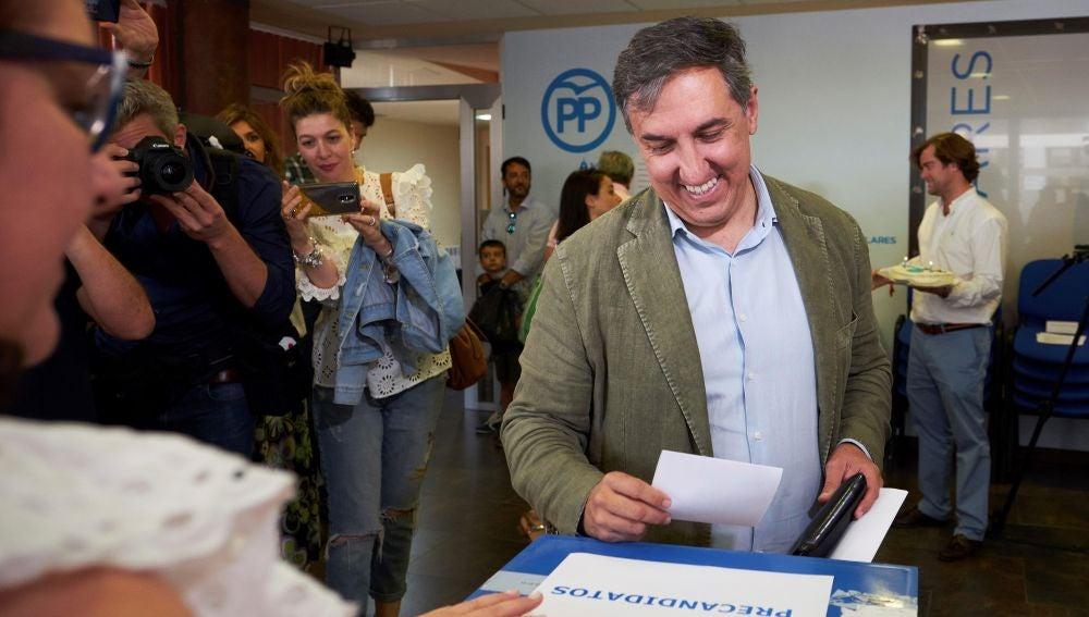 El diputado por Ávila y candidato a la presidencia del Partido Popular, José Ramón García Hernández