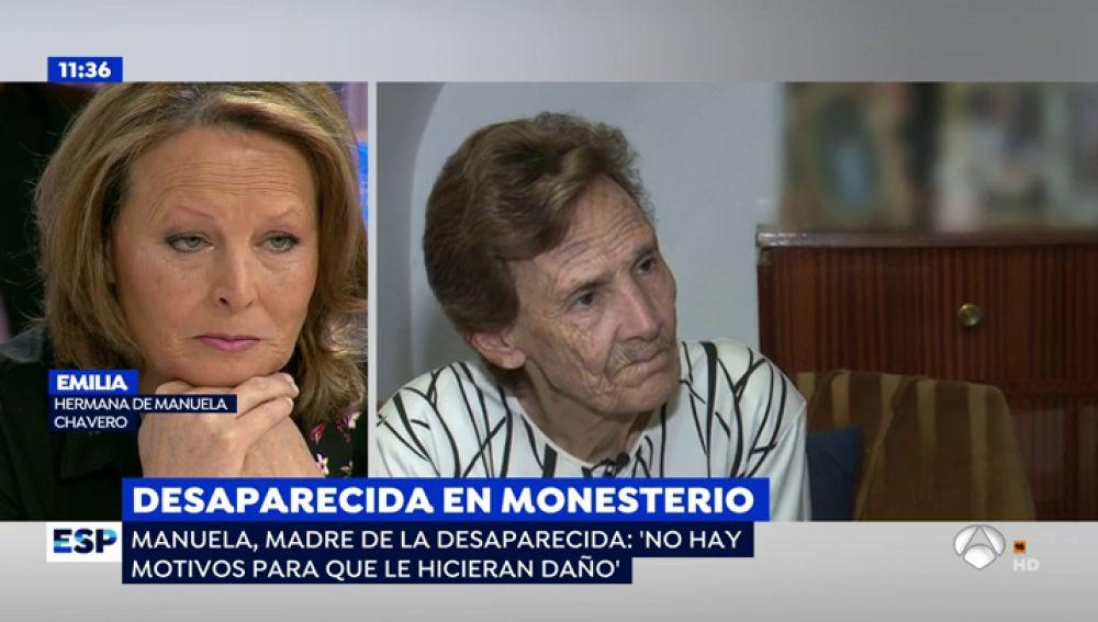 """La madre de Manuela Chavero, tras el avance en la investigación: """"Si le ha pasado algo malo a mi hija será mi final"""""""