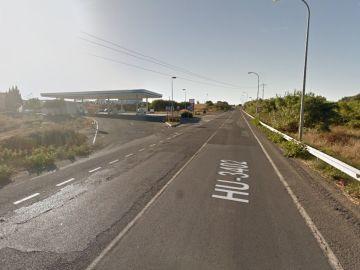 Kilómetro 3 de la carretera HU-3402