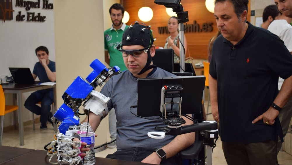Un exoesqueleto robótico