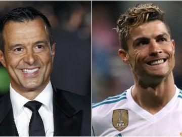 Jorge Mendes y Cristiano Ronaldo