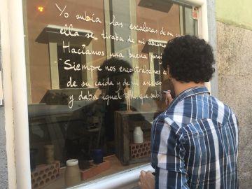 Marwan decora las calles de Madrid