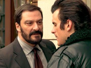 """Arturo a su hijo: """"Como hagas sufrir a Llanos, te mato"""""""