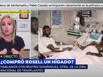 Beatriz Domínguez, directora de la Organización Nacional de Trasplantes, en 'Espejo Público'