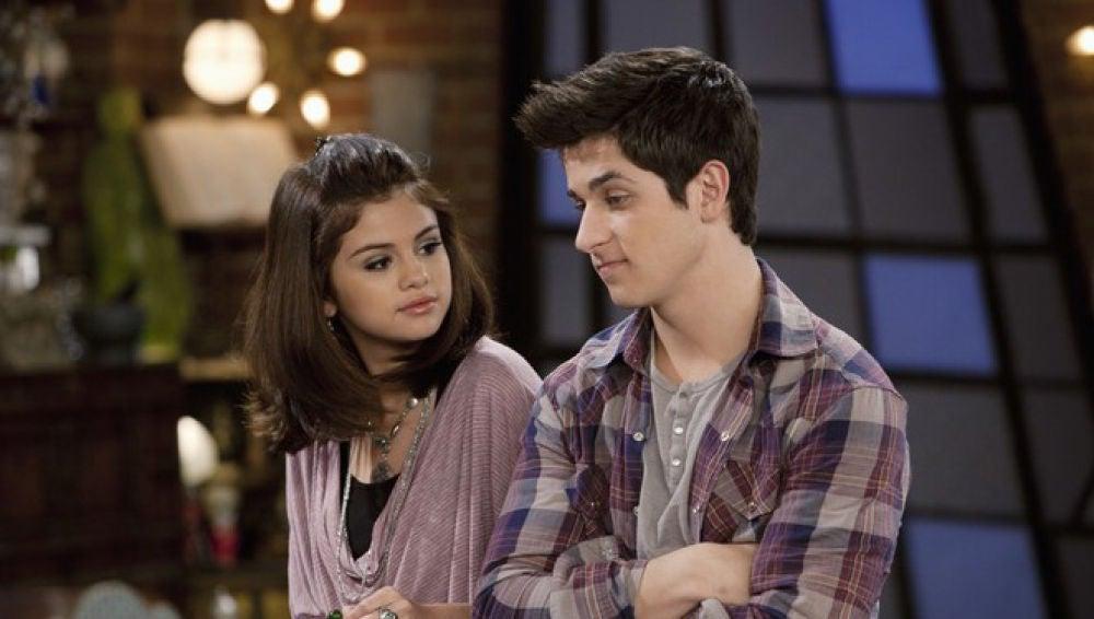 Selena Gómez y David Henrie