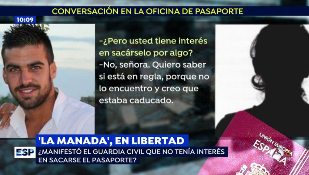 Conversación de Guerrero en comisaría