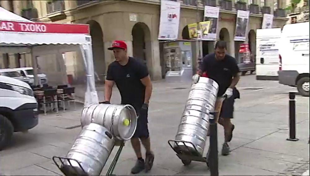 Pamplona ultima los preparativos para unas fiestas libres y en igualdad