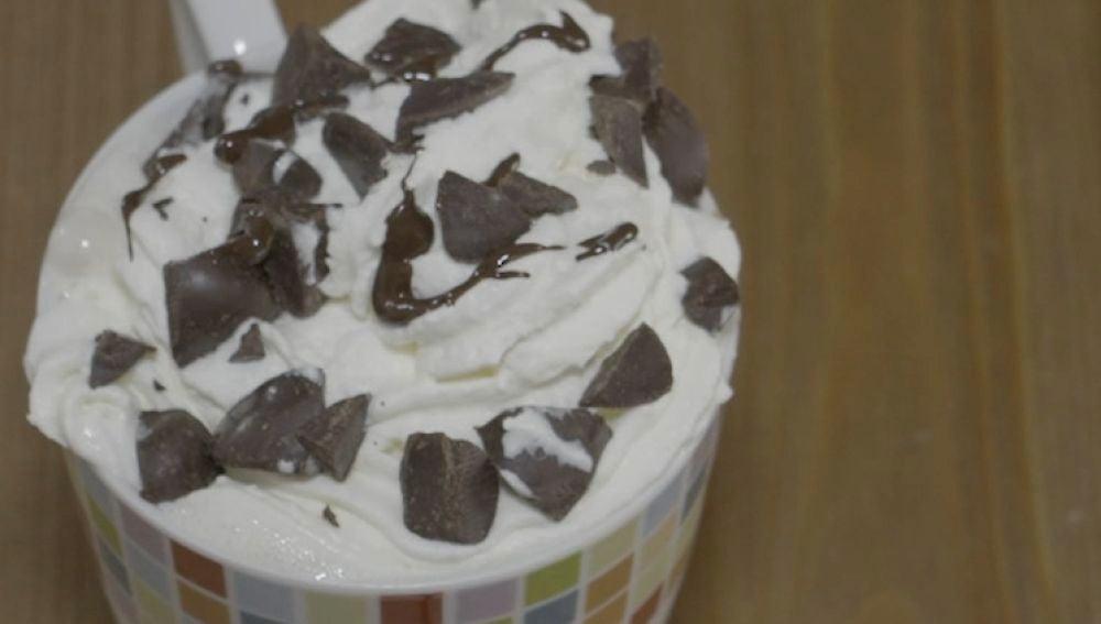 El delicioso mugcake de frapuccino.